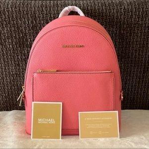 Michael Kors Adina MD Backpack Leather Grapefruit